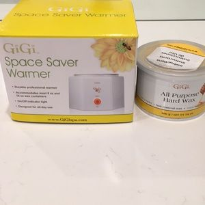Gigi Hot Wax Warmer and Hard Wax